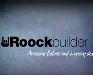 Rockbuilder visual editor e drag & drop page builder per Joomla